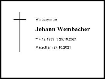 JohannWembacher