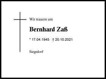 BernhardZaß