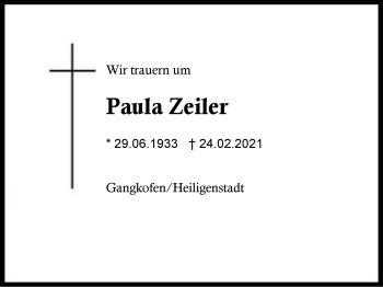 Paula Zeiler