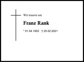 FranzRank