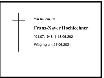 Franz-XaverHochlechner