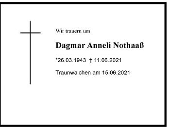 Dagmar AnneliNothaaß