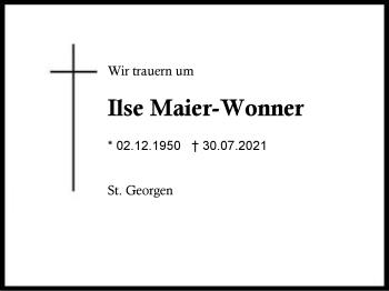 IlseMaier-Wonner