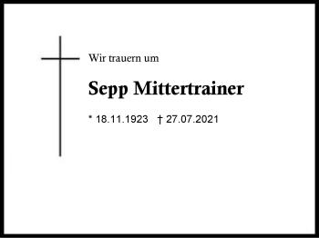 SeppMittertrainer