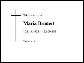 MariaBrüderl